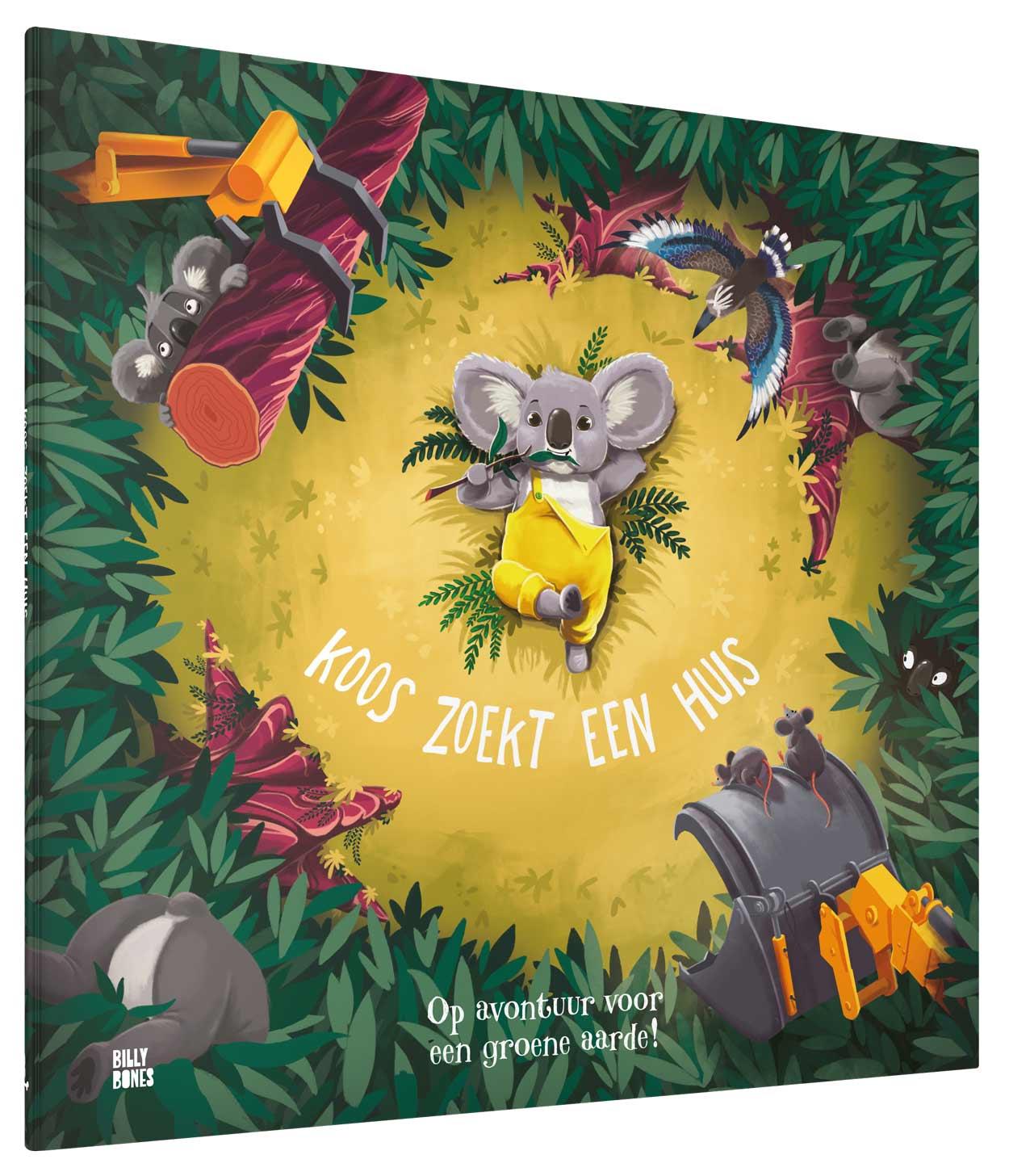 KOOS ZOEK EEN HUIS 3 D - Met deze boeken leren kinderen (en jij ook) meer over hoe we lief kunnen zijn van het milieu!