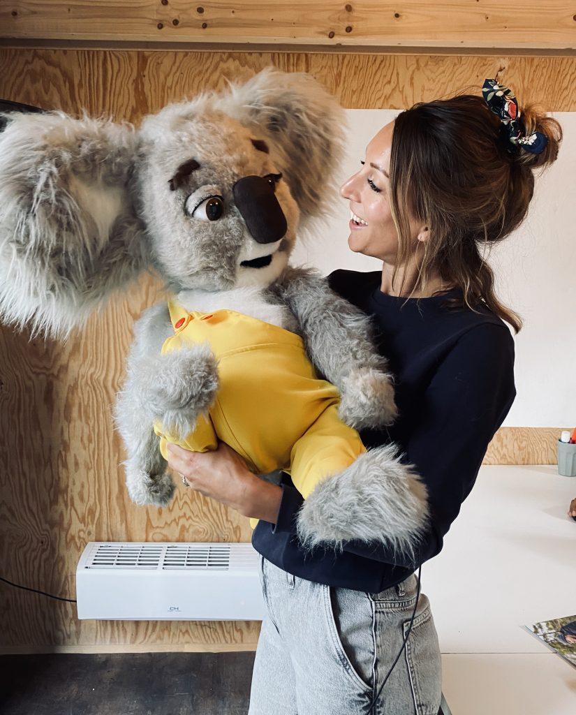 Liselot Koos de koala
