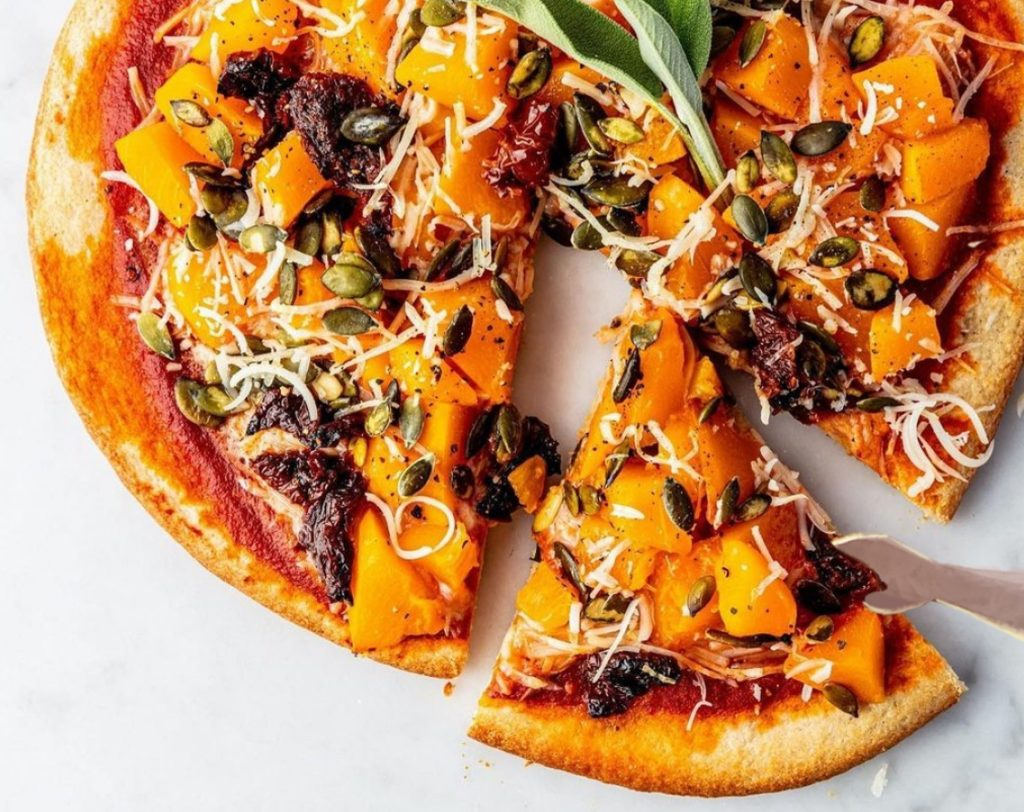 Koos Vegan Pumpkin Pizza
