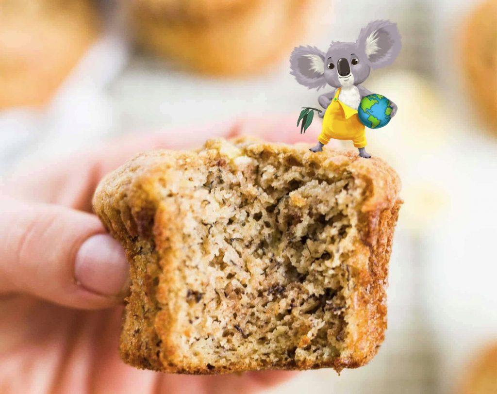 Koos' Bananenbrood Muffins gezond